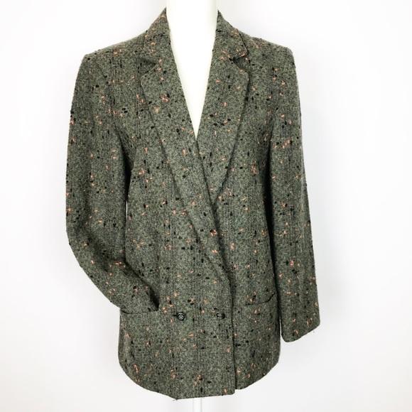 "Cassidy Jackets & Blazers - Vintage 90s ""Miami Vice"" Style Wool/Angora Blend C"